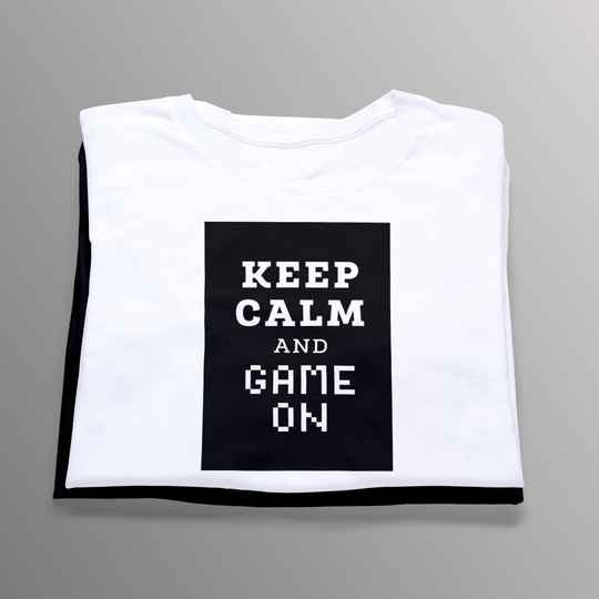 Keep Calm and Game on (Gamer 5715)