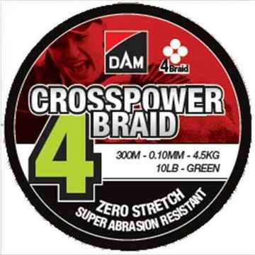 DAM Crosspower 4 Braid 300m