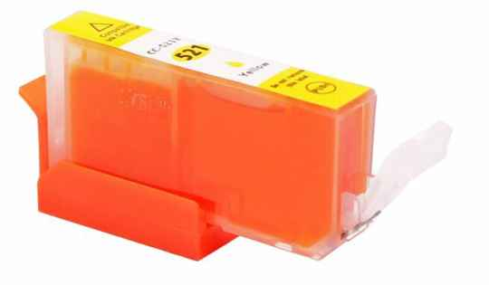 Canon huismerkcartridge CLI 521 XL Yellow