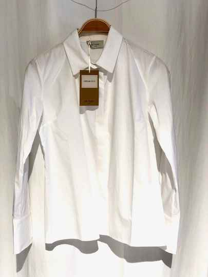 Be Pure Getailleerde Blouse wit