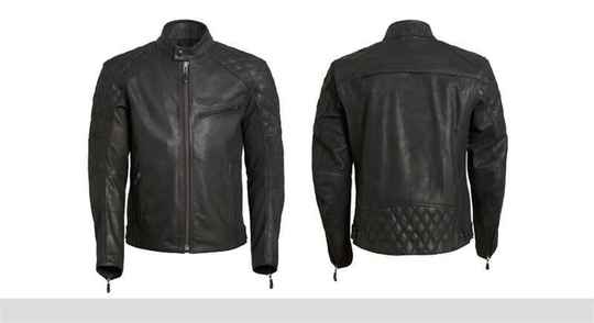Triumph Arno Quilted Jacket black.