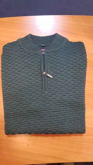 PULLOVER  , RONDE HALS RITS