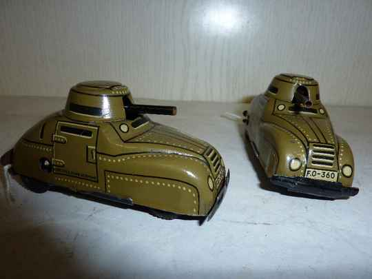 2x armored car, us zone