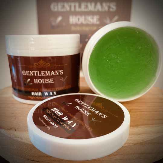 Gentleman's House Hair wax - Green Apple 100g