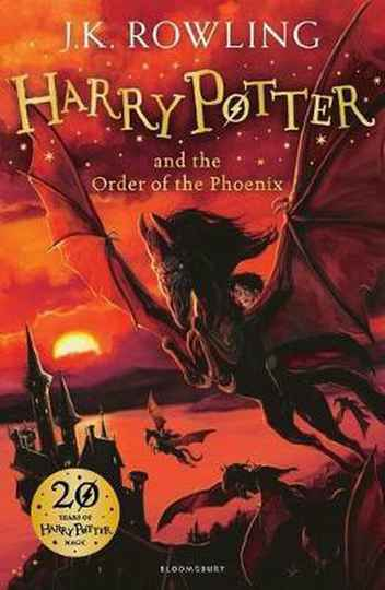 Harry Potter and the Order of the Phoenix (5) - Auteur: J.K. Rowling
