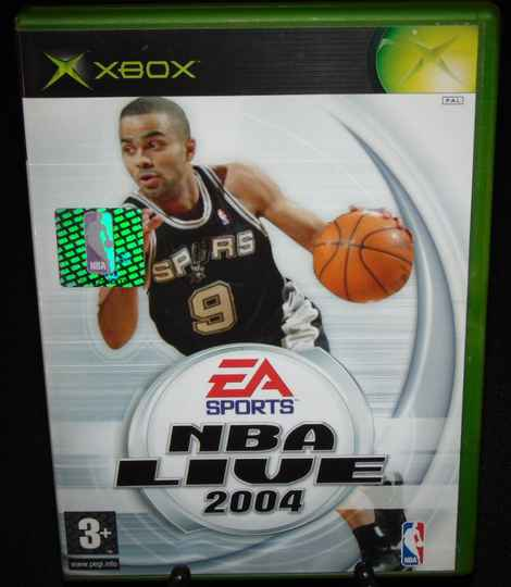 NBA Live 2004 / Xbox / Complet / Fr.