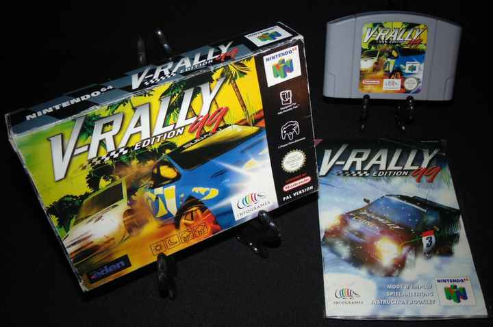 V-Rally Edition 99 - EUR. / N64 / Complet