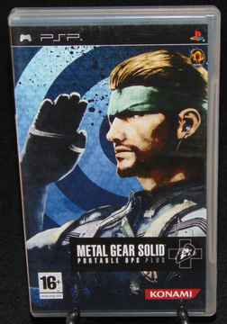 Metal Gear Solid Portable OPS Plus / PSP / Complet / Fr.