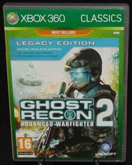 Tom Clancy's Ghost Recon Advanced Warfighter 2 / Xbox 360 / Complet / FAH
