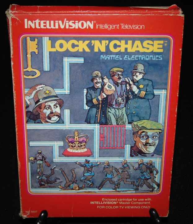 Lock 'N' Chase / Intellivision / Complet Fr.