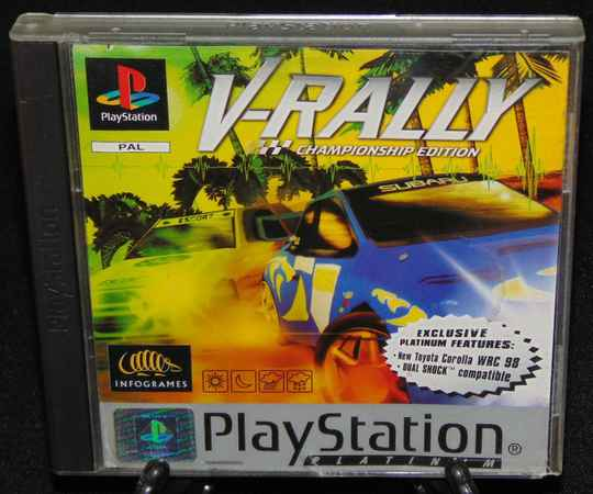 V-Rally / PS1 / Complet / Platinum