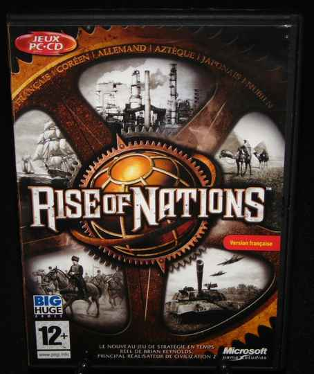 Rise of Nations / Jeu PC / Complet / Fr. TTBE!