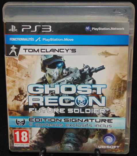 Ghost Recon Future Soldier / PS3 / Complet / Fr.