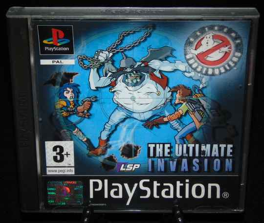 Extreme Ghostbusters : The Ultimate Invasion / PS1 / Complet / Fr.