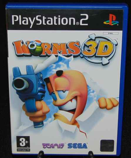 Worms 3D / PS2 / Complet / Fr.