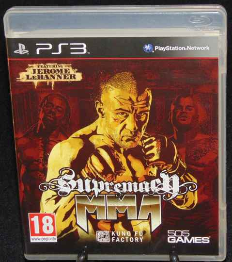Supremacy MMA / PS3 / Complet / Fr.