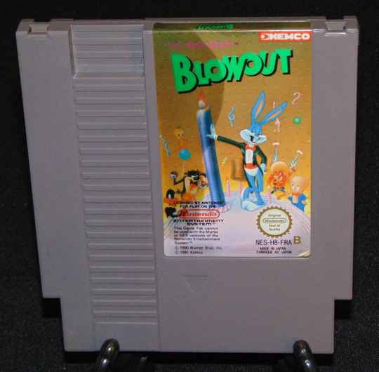 The Bugs Bunny Blowout  / FRA. / NES