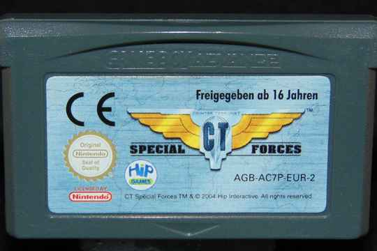 CT Special Forces / GBA / Loose EUR.