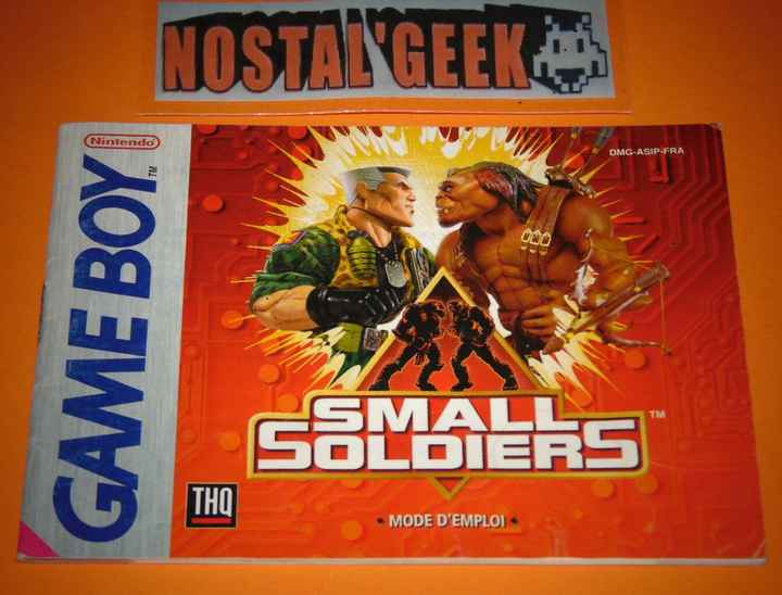 Small Soldiers / Notice GB / Pal. FRA