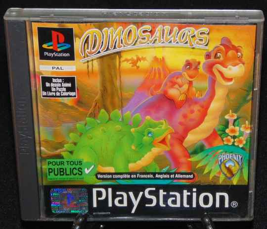 Dinosaurs / PS1 / Complet / Fr.