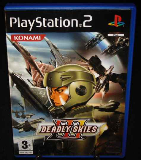 Deadly Skies III 3 / PS2 / Complet / MINT! Fr.
