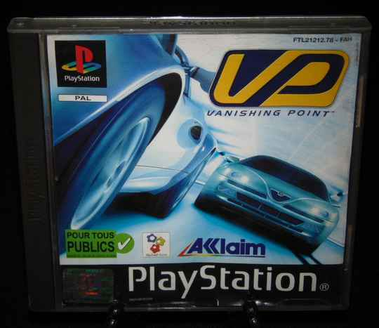 Vanishing Point / PS1 / Complet / Fr.