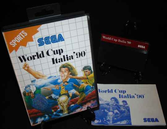 World Cup Italia '90 / SMS / Complet TTBE!