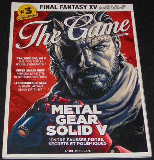 The Game / N° 3 / Mag. Revue