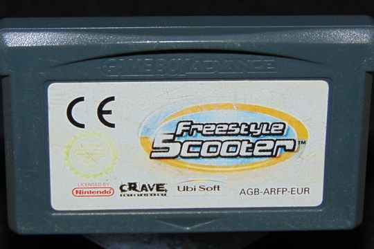 Freestyle Scooter / EUR. / GBA