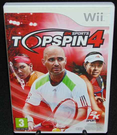 2K Sports Topspin 4 / WII / Complet