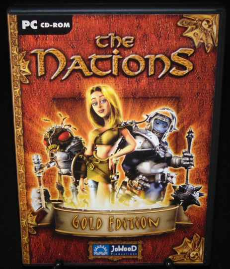 """The Nations """"Gold"""" / Jeu PC / Complet / Fr. TTBE!"""