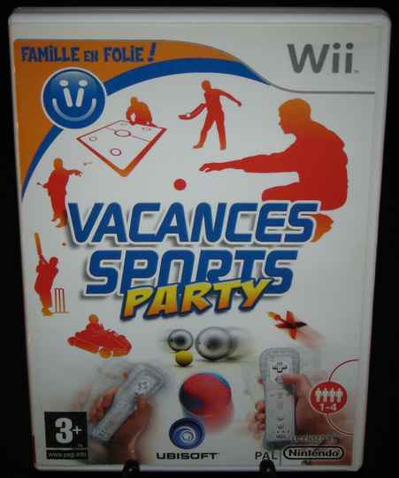 Vacances Sports Party / WII / Complet