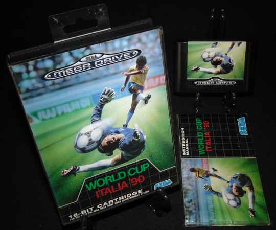 World Cup Italia '90 / SMD / Complet