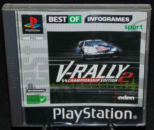 V-Rally 2 / PS1 / Complet / Fr.