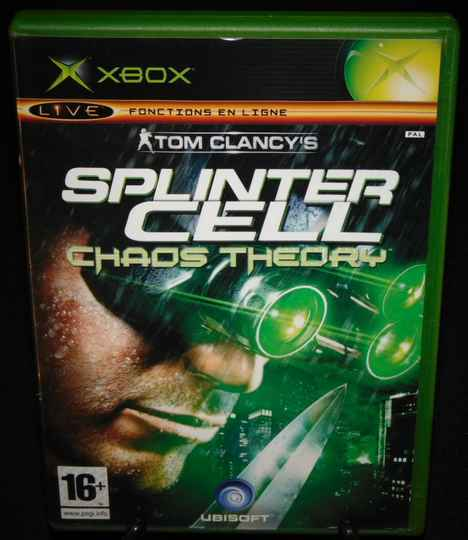 Splinter Cell Chaos Theory / Xbox / Complet / Fr.