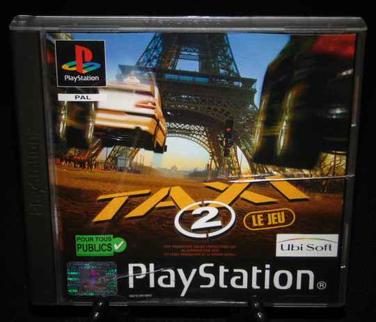 Taxi 2 / PS1 / Complet / Fr.