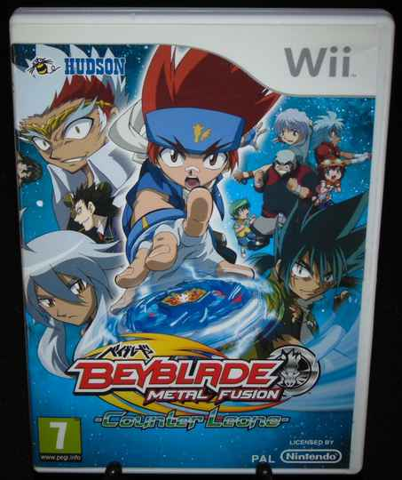 Beyblade Metal Fusion / WII / Complet