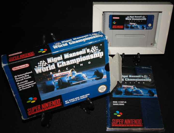 World Championship Racing - FAH. / SNES / Complet
