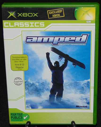 Amped Freestyle Snowboarding / Xbox / Complet / Classics Fr. / TBE