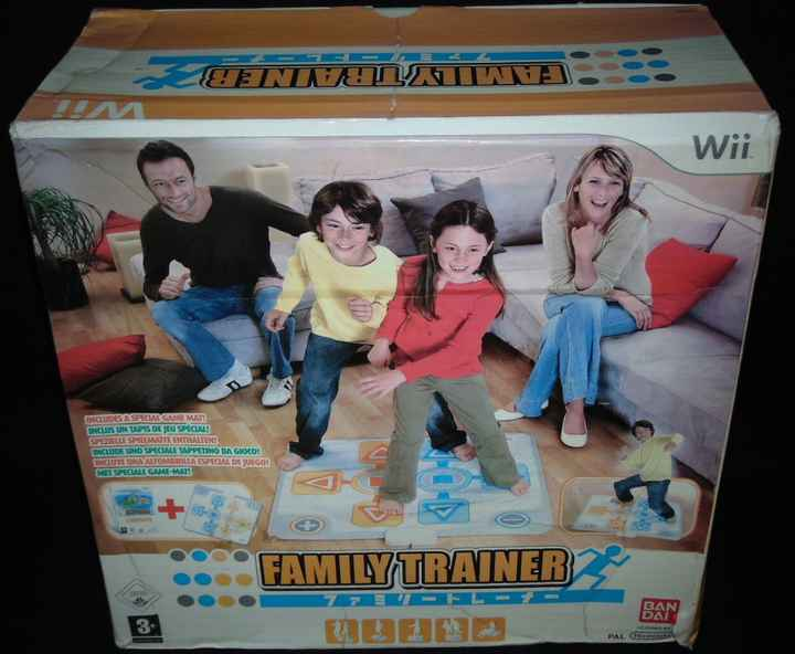 Family Trainer Avec Tapis / Jeu WII / Complet