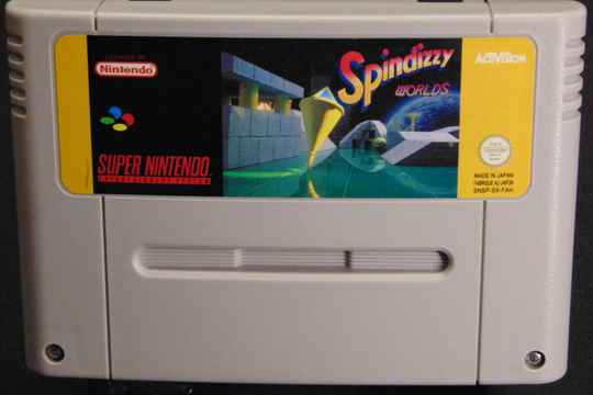 Spindizzy Worlds / FAH. / SNES