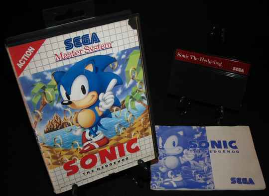 Sonic The Hedgehog / SMS / Complet