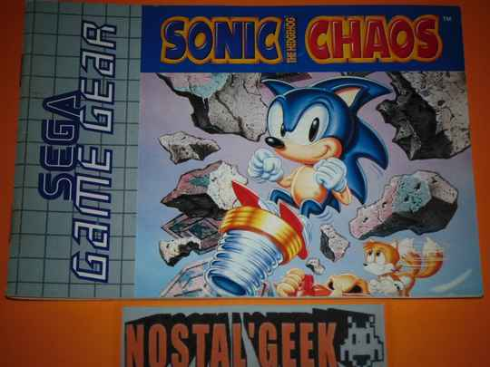 Sonic Chaos / Notice GG / Pal.