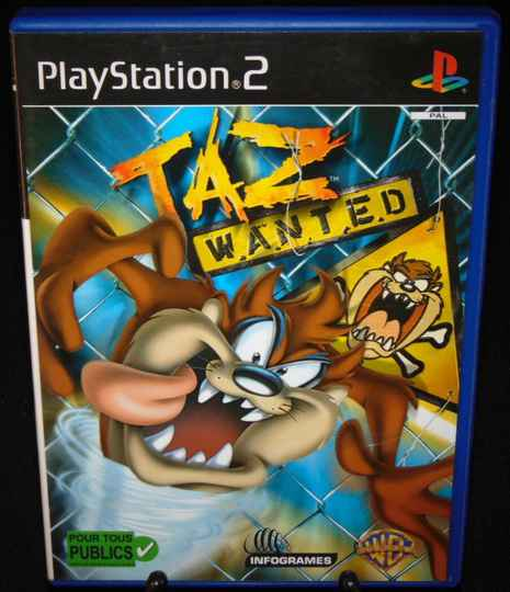 Taz Wanted / PS2 / Complet / Fr.