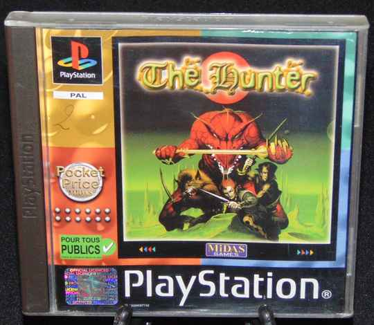 The Hunter / PS1 / Complet / Fr. TTBE!