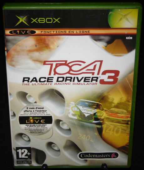 Toca Race Driver 3 / Xbox / Complet / Fr.