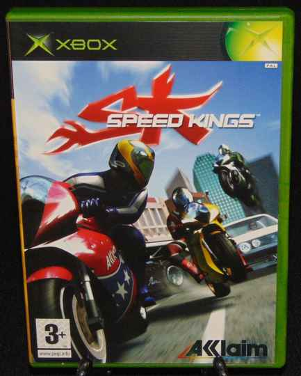 Speed Kings / Xbox / Complet / FAH / TBE