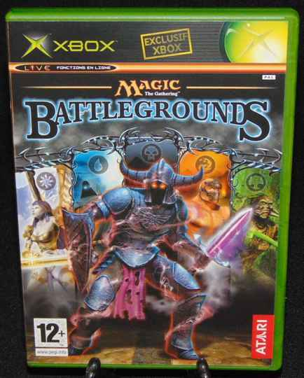 Magic The Gathering Battlegrounds / Xbox / Complet / Fr. / MINT!