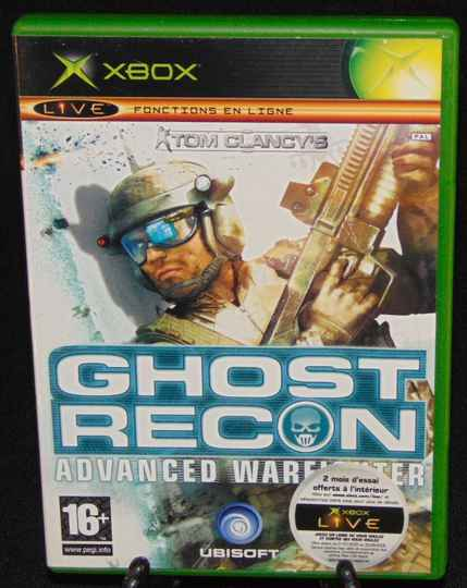 Tom Clancy's Ghost Recon Advanced Warfighter / Xbox / Complet / Fr.