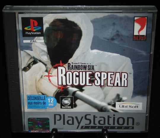 Tom Clancy's Rainbow Six Rogue Spear / PS1 / Complet / Platinum Fr.